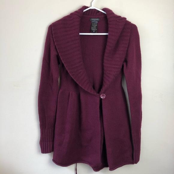 Talula Aritzia size S wool blend open cardigan